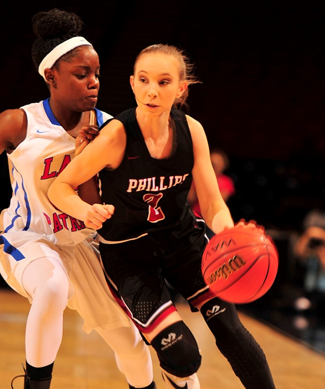 CLASS 1A GIRLS' SEMIFINALS Phillips 75, Linden 46
