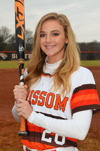 Grissom's Darian Buss Ties AHSAA Fast-Pitch Record for Hits in a Game