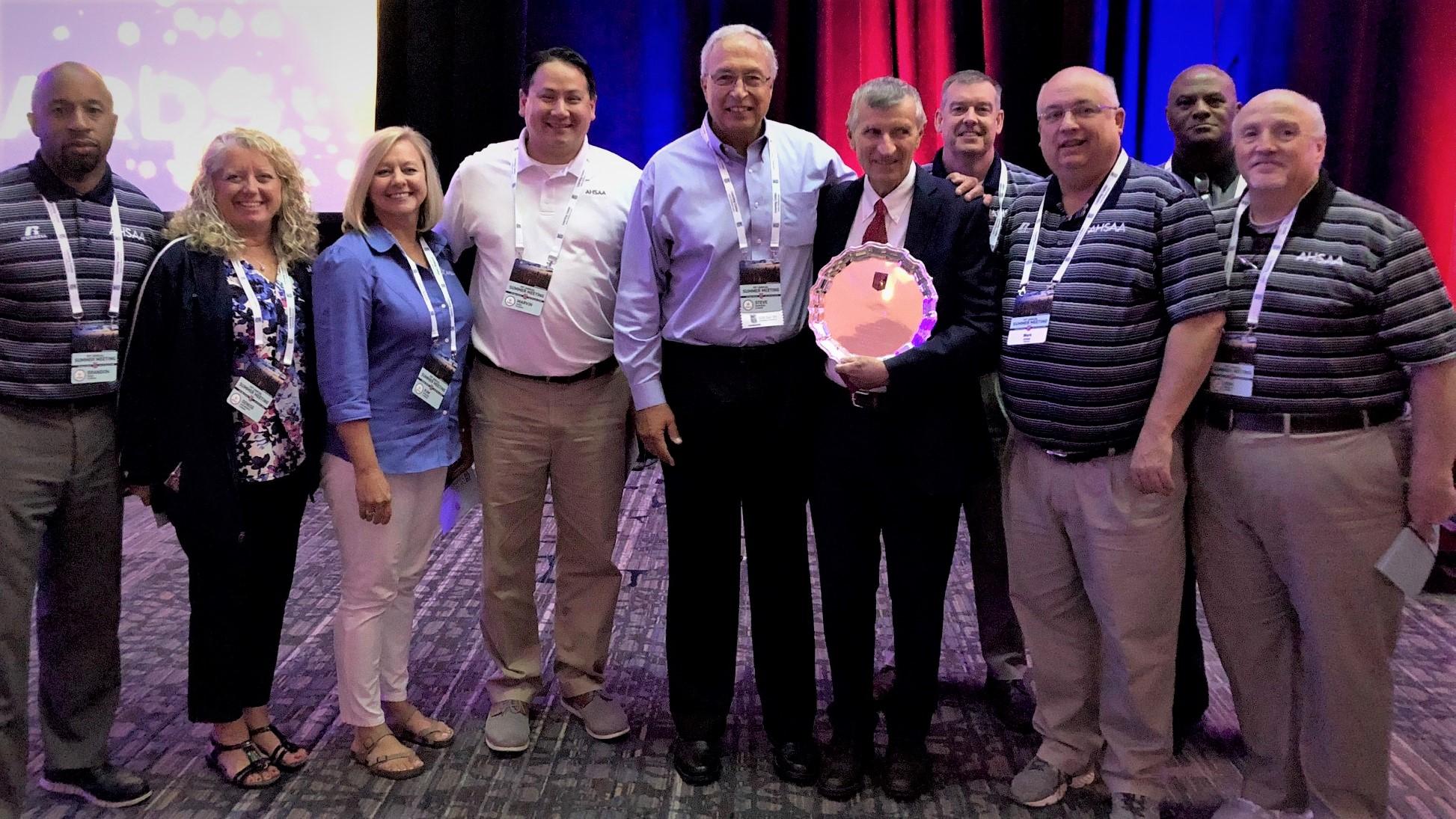 AHSAA Soccer Official Joe Manjone Receives NFHS Citation for Officiating