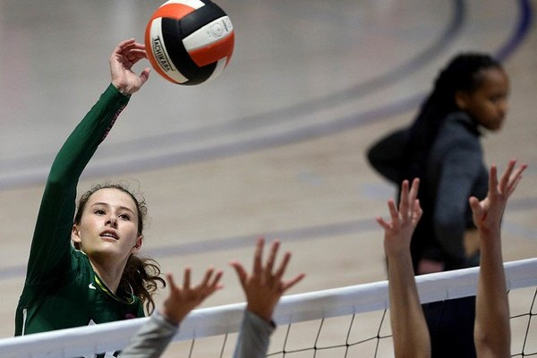 Grace Carr's Performance Leads Mountain Brook  To AHSAA Volleyball Spotlight and Tourney Title