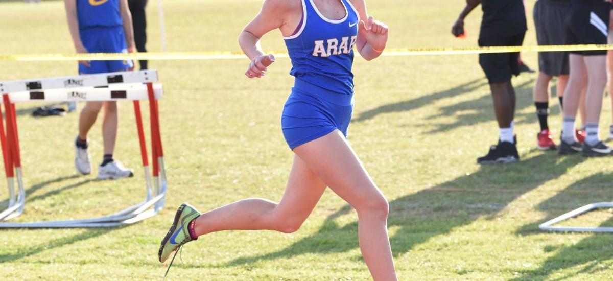Arab Senior Megan Schwarze Wins Two Races In 4 Days to Grab AHSAA Cross Country Spotlight