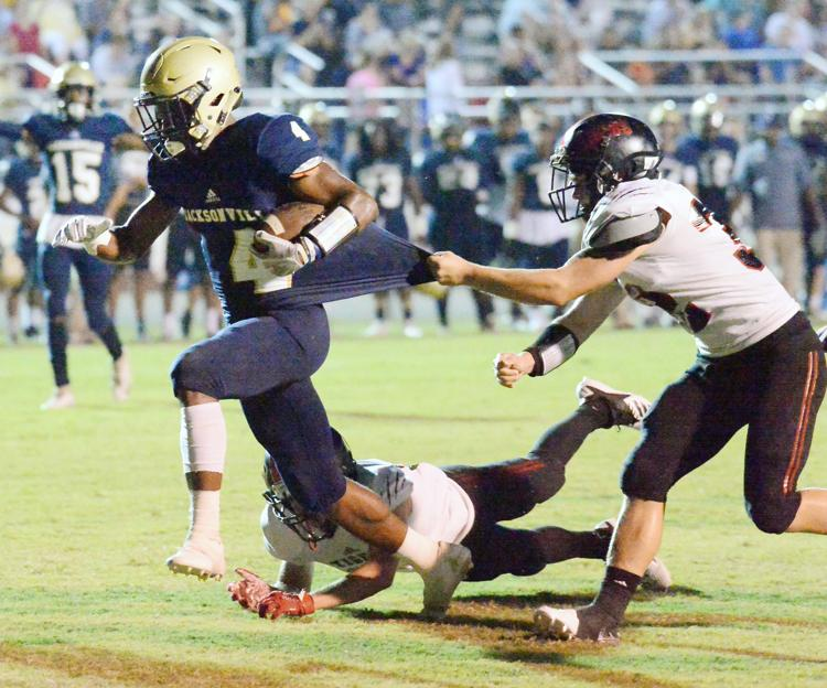 Jacksonville's Wiggins Rushes for 409 Yards to Grab the AHSAA Football Spotlight for Week 4