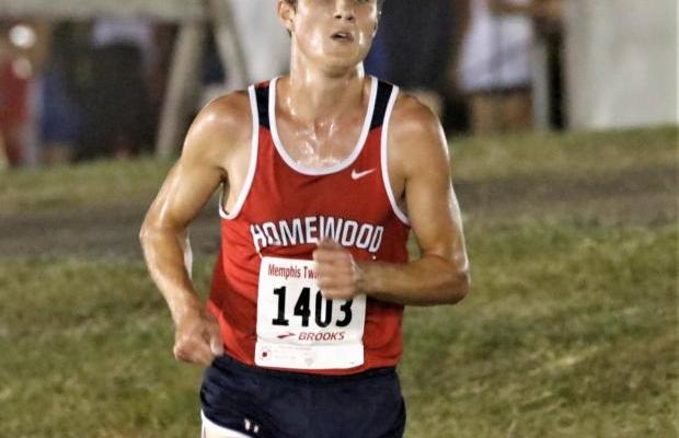 Homewood's Will Stone Turns in Fastest 5K Time of The Season to Claim AHSAA Cross Country Spotlight