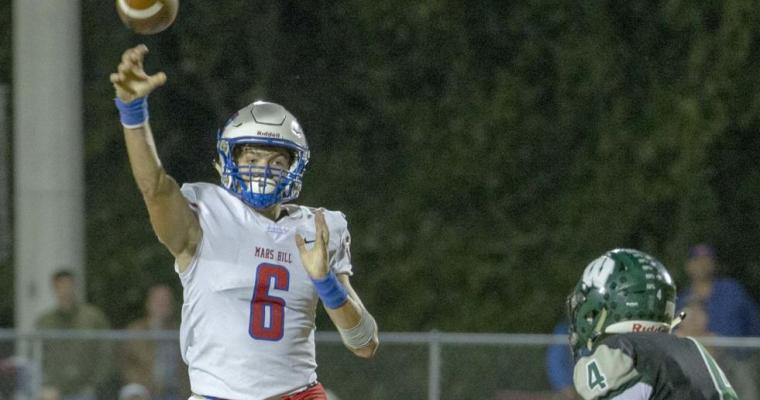 Mars Hill's Joseph Hanson Swipes 4 Interceptions in Panthers' 1A Playoff Win