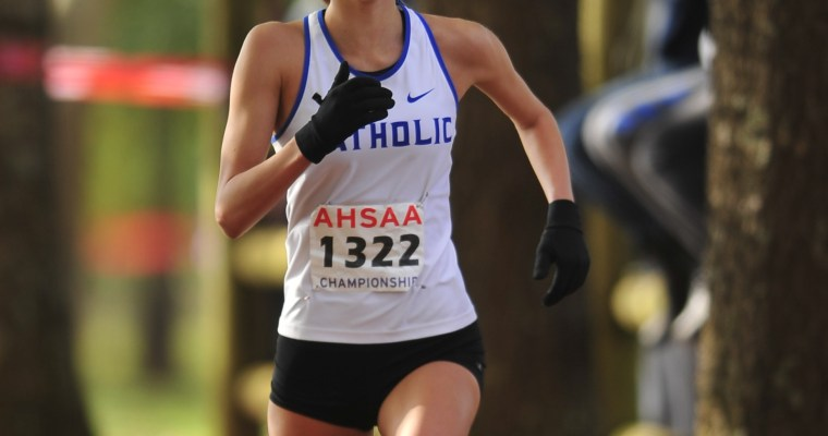 Catholic Senior Amaris Tyynismaa Claims Fifth AHSAA Cross Country Individual Title Saturday