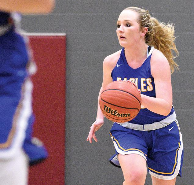 Senior Camryn Crider Paces Cold Springs  3-point Binge in Win over Southeastern