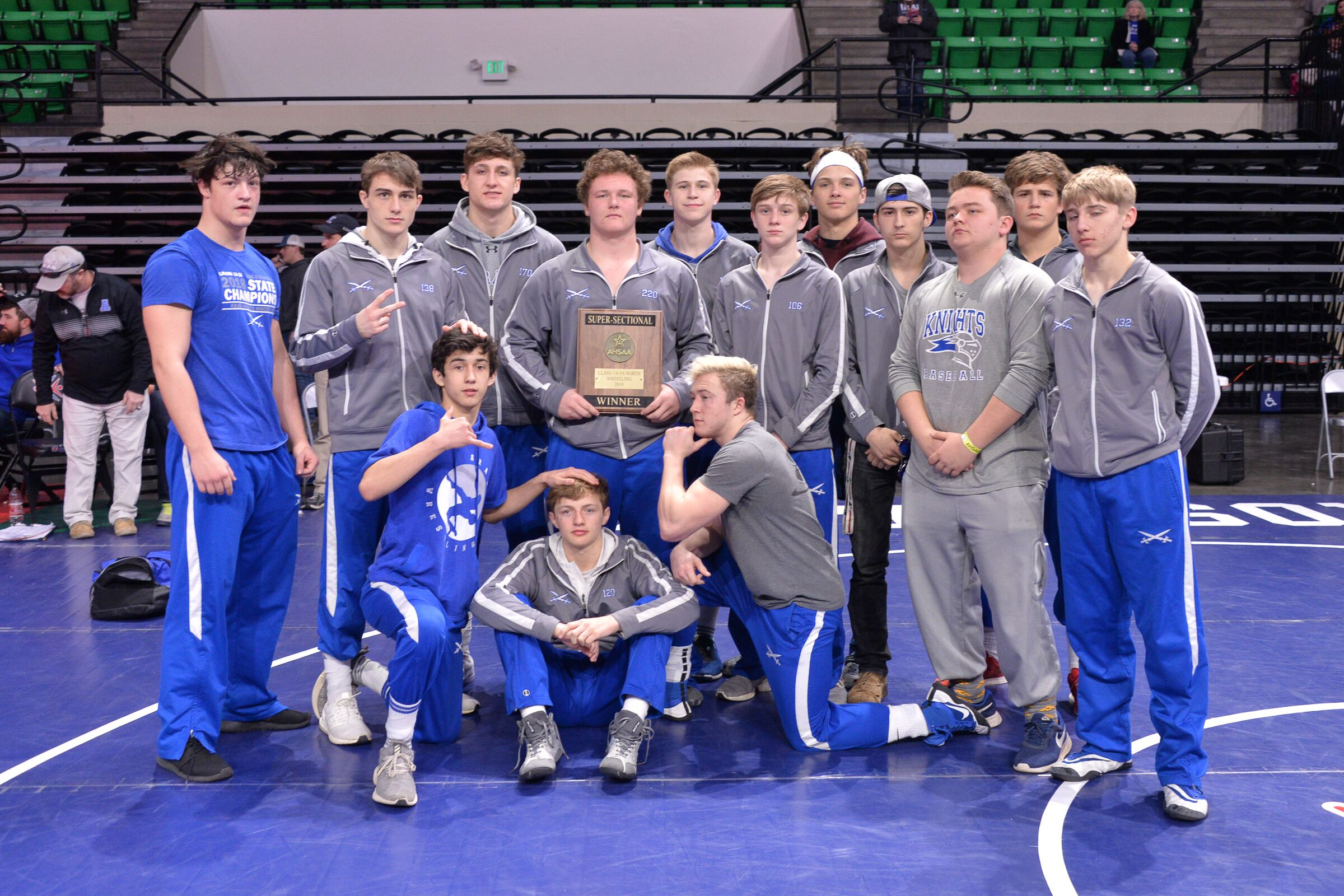 Defending State Champions Thompson, Oxford, Arab Claim Super Sectional Wrestling Titles Saturday