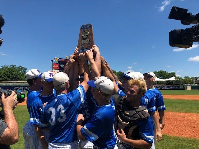 Class 1A State Baseball Championship Series Game 2: Mars Hill Bible 13, Brantley 2 (Mars Hill Bible Wins Series 2-0)