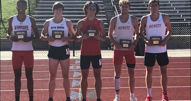 Hewitt-Trussville's Stone Shelnutt, Caleb Long Finish 1-2 in Decathlon