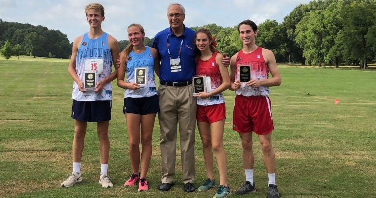 South Girls, North Boys Win AHSAA North-South Cross Country Races Wednesday morning at AUM