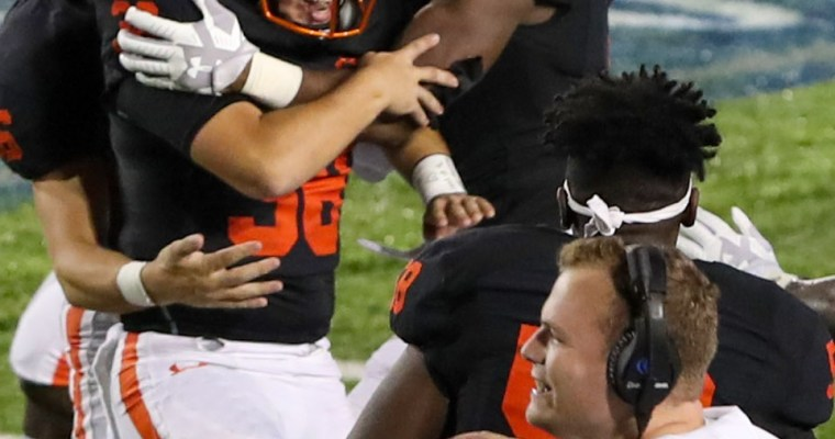 Hontzas Kicks Hoover to 17-14 Win with 30-Yard Field Goal Just before Midnight