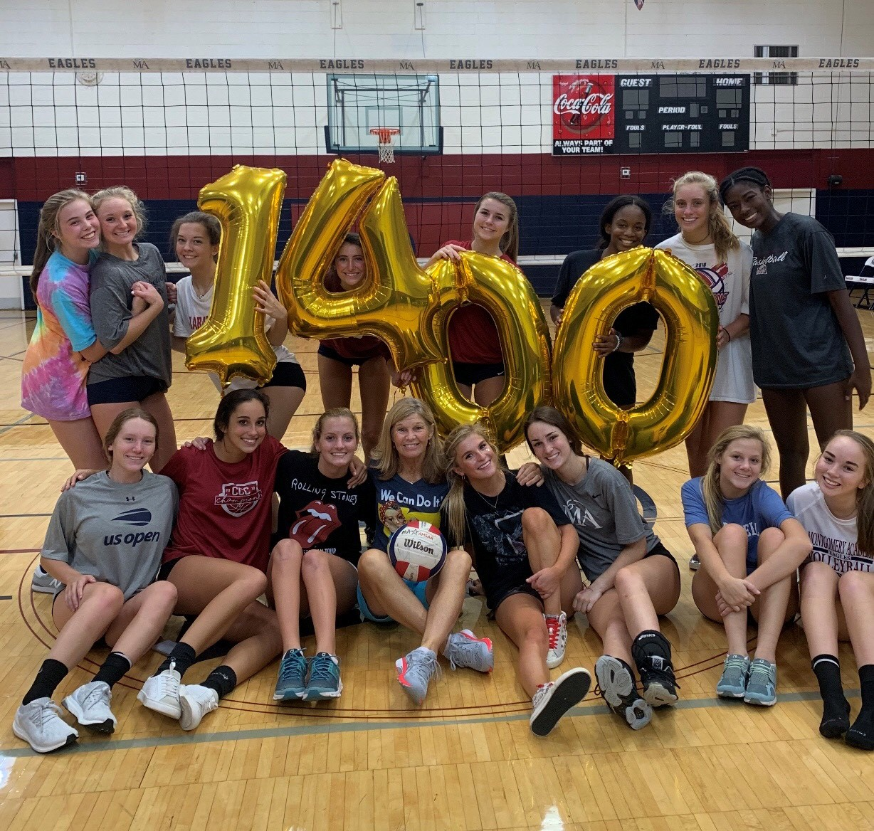 Montgomery Academy Coach Julie Gordon Claims 1,400th Career Win with Victory over Spain Park