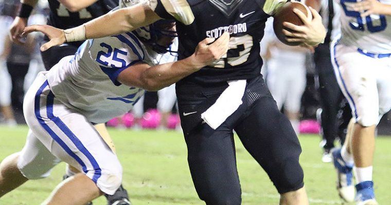 Scottsboro Duo Rush for more than 200 Yards Each in the Wildcats' 56-42 Win over Arab