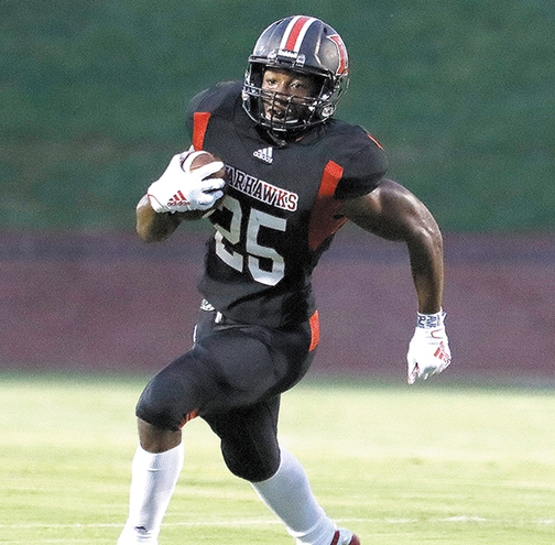 National Prep Rushing Leader Jalen White Runs for 465 Yards, 7 TDs in Daleville Win