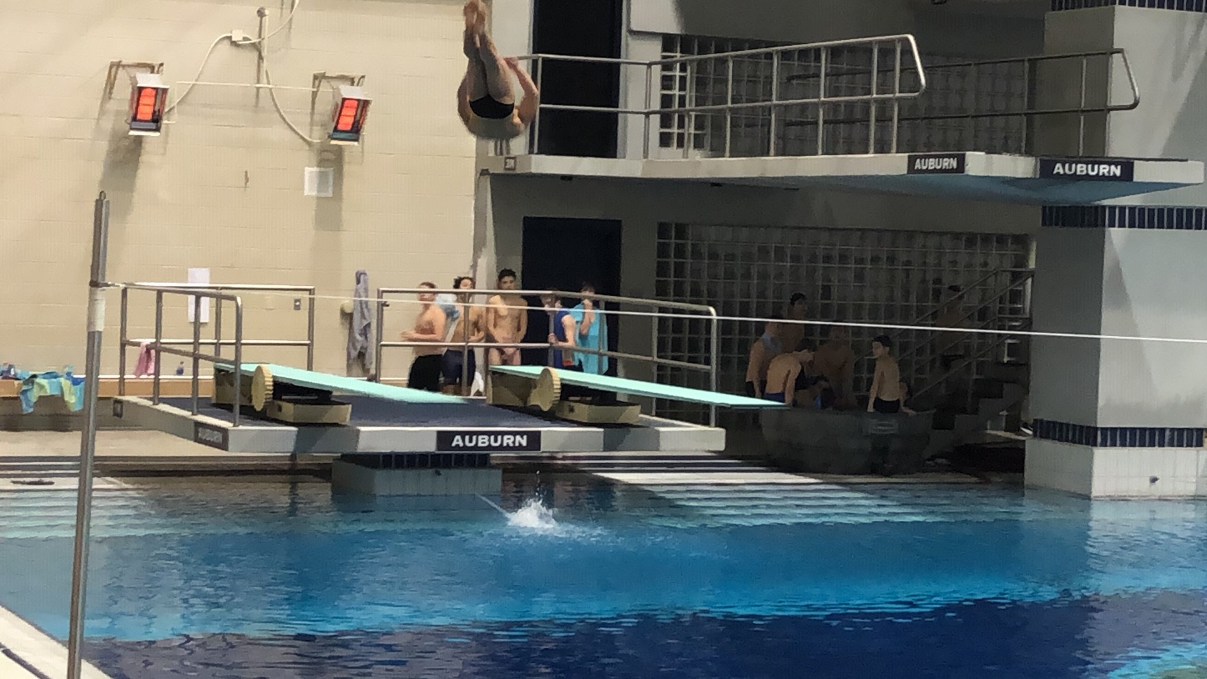 UMS-Wright Sophomore Wins 4th Straight Diving Title at State Swimming and Diving Championships