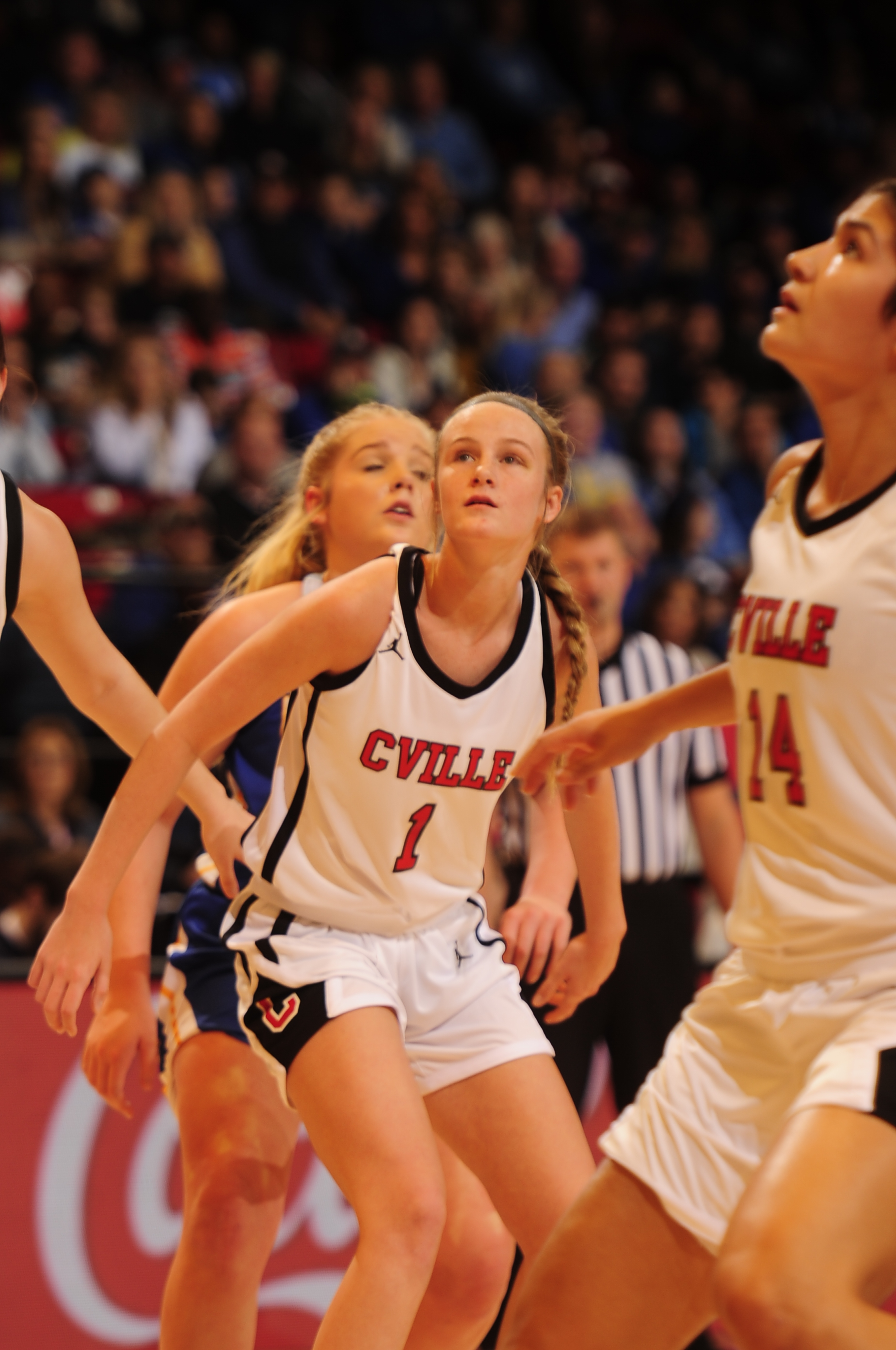 Class 2A Girls' Championship Collinsville 58, Cold Springs 45