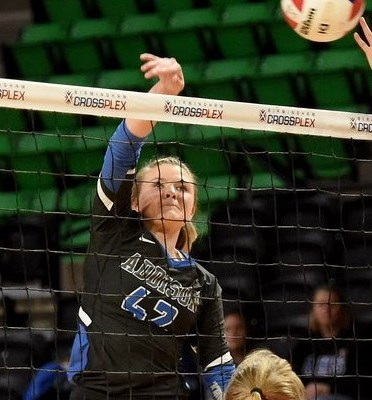 Addison's Callie Crider Shines at the Net for Bulldogs in Three Matches