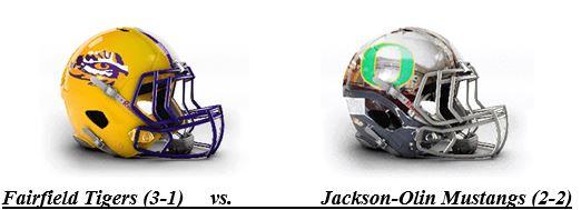 Fairfield Meets Jackson-Olin Tonight in AHSAA TV/NFHS Network Game of the Week