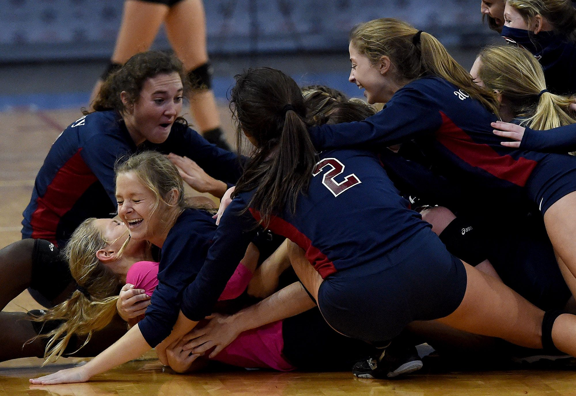 AHSAA 50TH VOLLYBALL STATE CHAMPIONSHIPS CLASS 4A STATE VOLLEYBALL CHAMPIONSHIP: Montgomery Academy 3, Curry 1