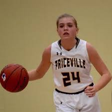 Priceville Guard Jenna Walker Passes  Her Way into the AHSAA Record Book