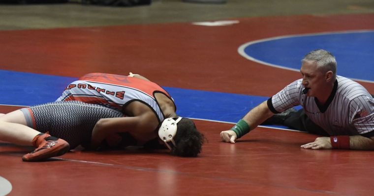 Ashville Holds 6-point Lead over Saint James at 1A/4A Wrestling Championships
