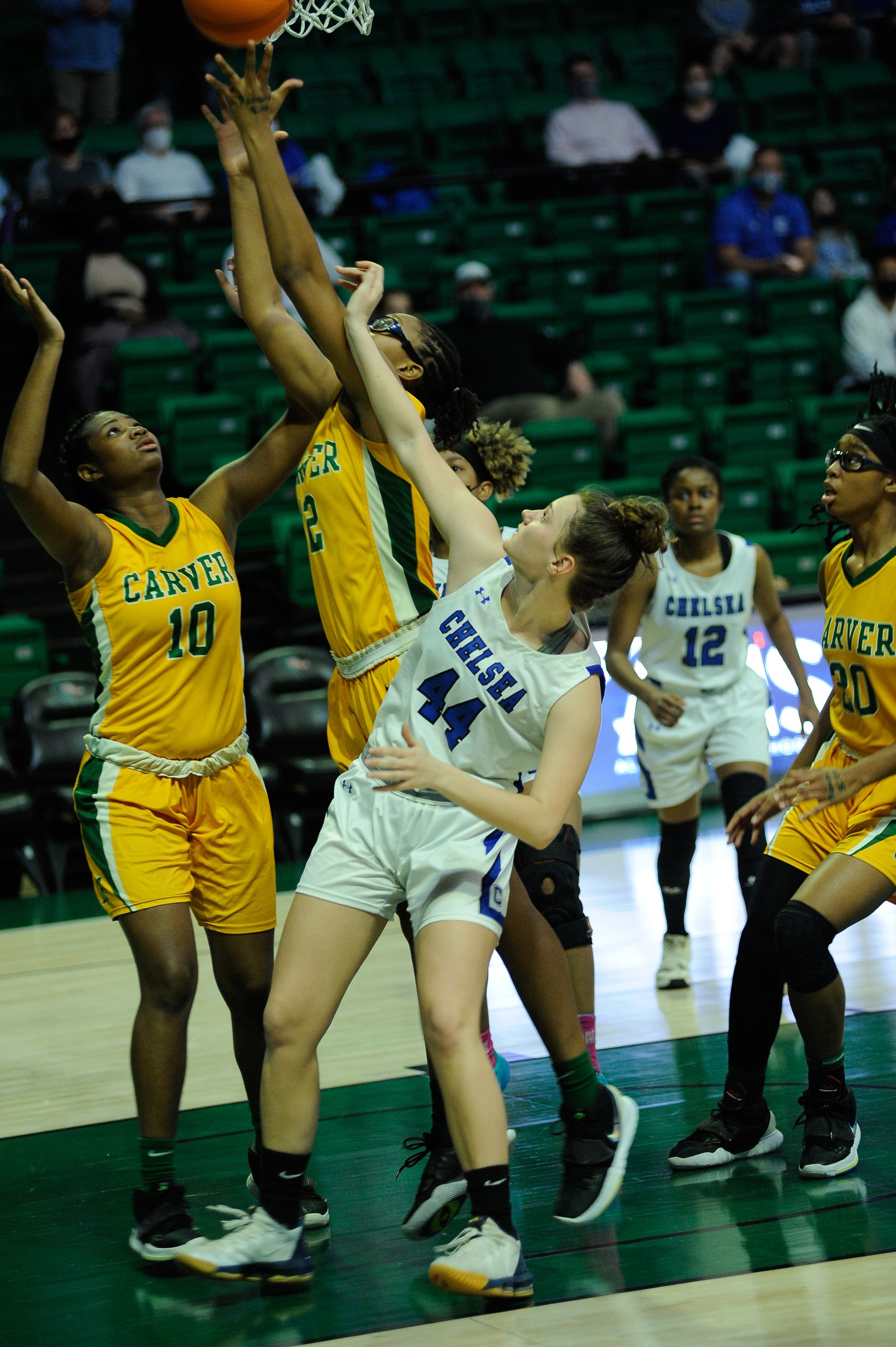 Class 6A Girls' Semifinal: Carver-Montgomery 41, Chelsea 28
