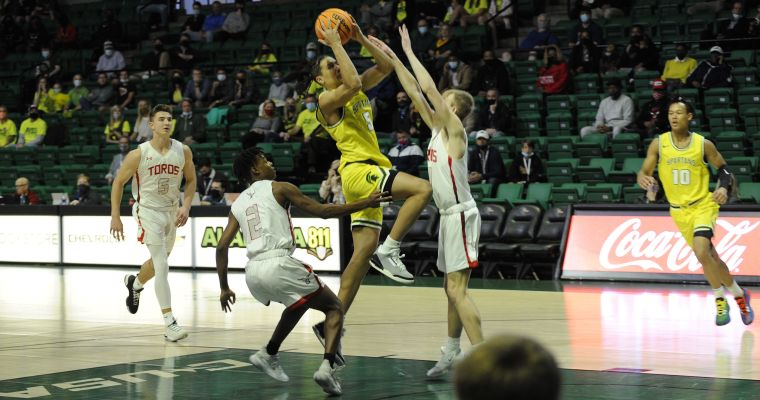 Class 6A Boys' State Championship: Mountain Brook 56, Spanish Fort 43