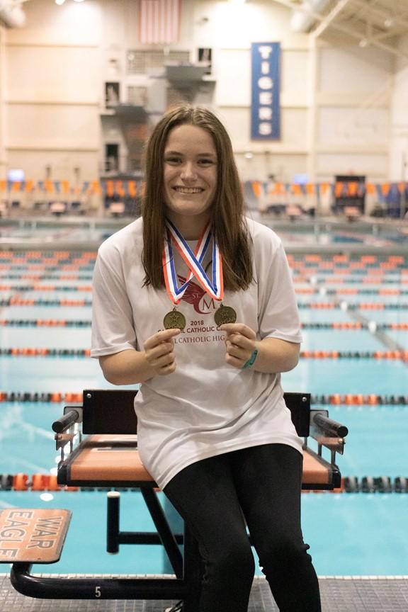 St. Michael Catholic Swimmer Sarah Kate Sligh Chases Paralympic Dream