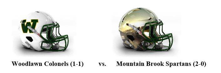 AHSAA TV Network Game of the Week: Improving Woodlawn Meets Mountain Brook in Class 6A, Region 5 Opener