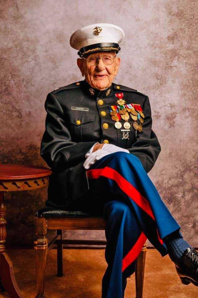 AHSAA saddened to learn of the death of retired Marine Col. Carl Cooper of Vestavia Hills
