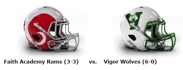 AHSAA TV Network/WOTM Game of the Week: Unbeaten Vigor Hosts Faith Academy at Ladd-Peebles Stadium Thursday