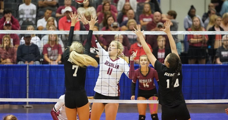 Six of Seven 2020 State Champions in the Field of 51st AHSAA State Volleyball Championships