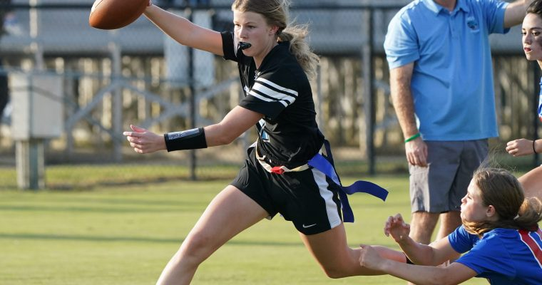 Girls Flag Football on Rise in High Schools, State Associations