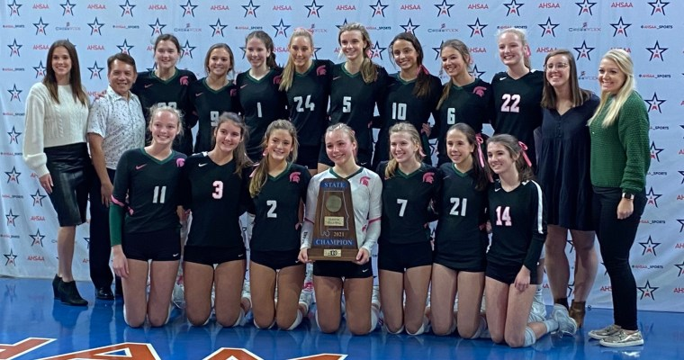 AHSAA 51st VOLLYBALL STATE CHAMPIONSHIPS CLASS 6A CHAMPIONSHIP:  Mountain Brook 3, St. Paul's Episcopal 0