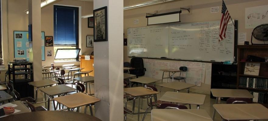 inside an AHS classroom