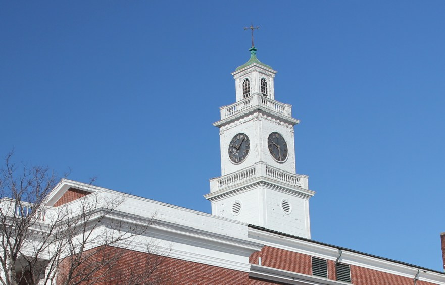 AHS clock tower