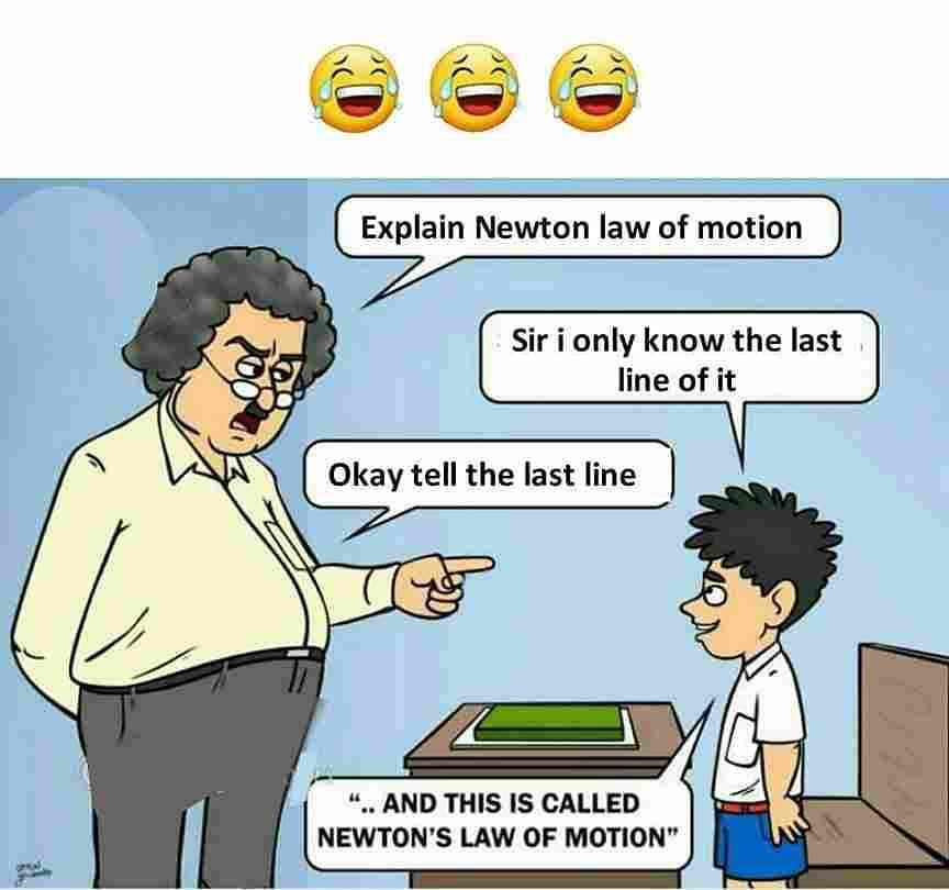 Explain Newton Law Of Motion Meme Ahseeit