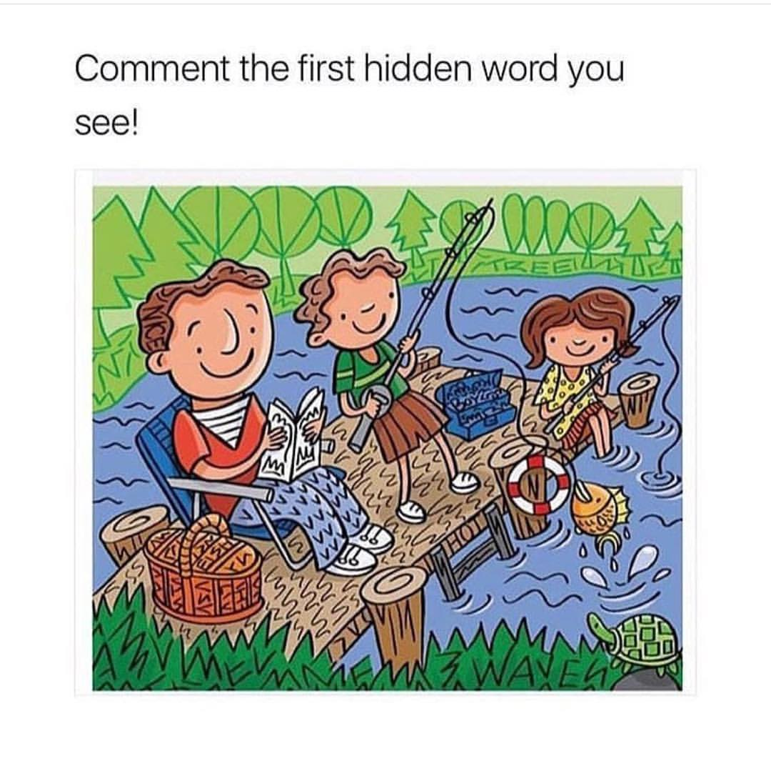Which Word Did You See First Meme Humour Image Drole Insolite