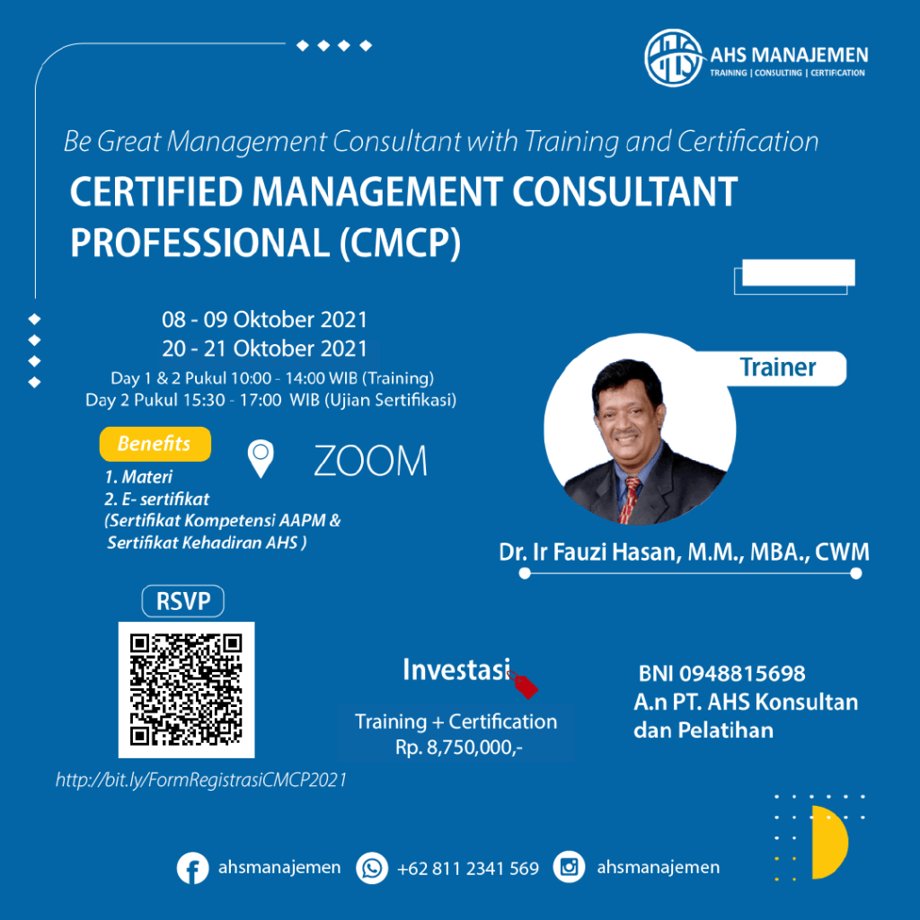Certified Management Consultant Professional (CMCP)