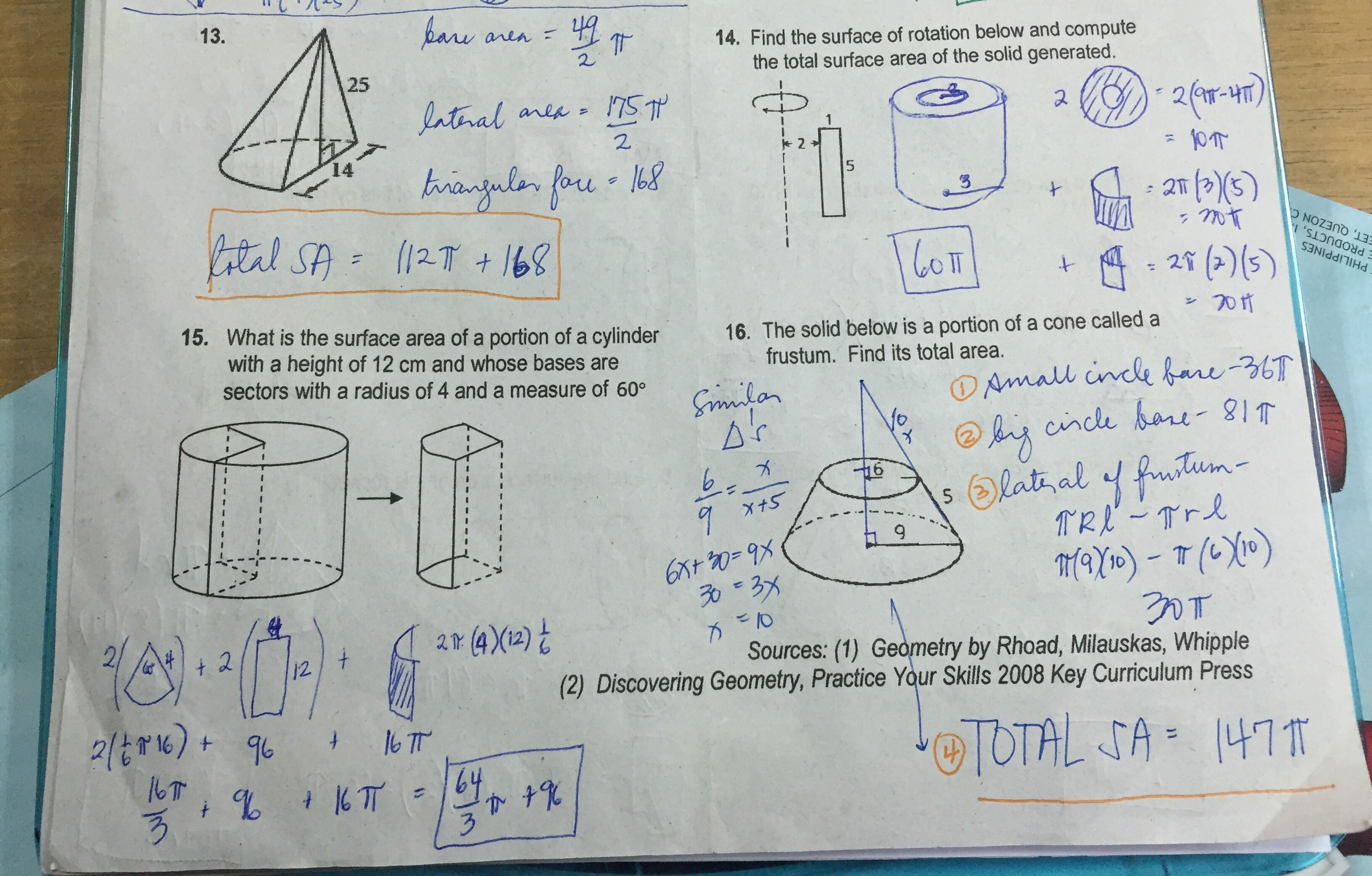 Optimizing Volume And Surface Area Worksheets