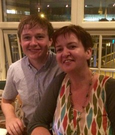 James Lawlor (Narrative4 Limerick) and Tina O'Toole