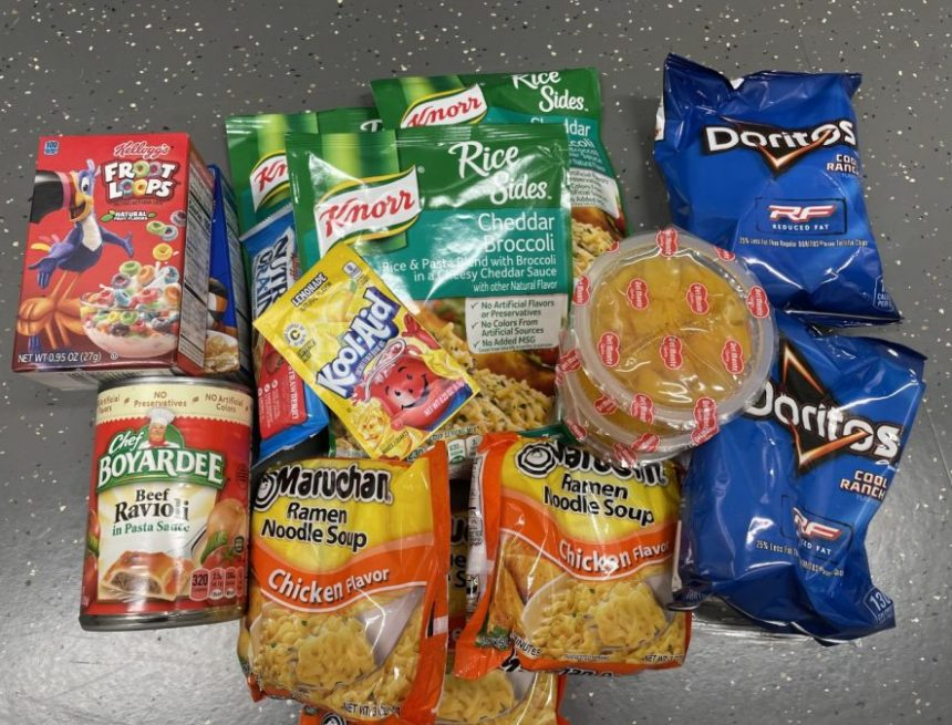 Backpack Program Works To Prevent Hunger in Students