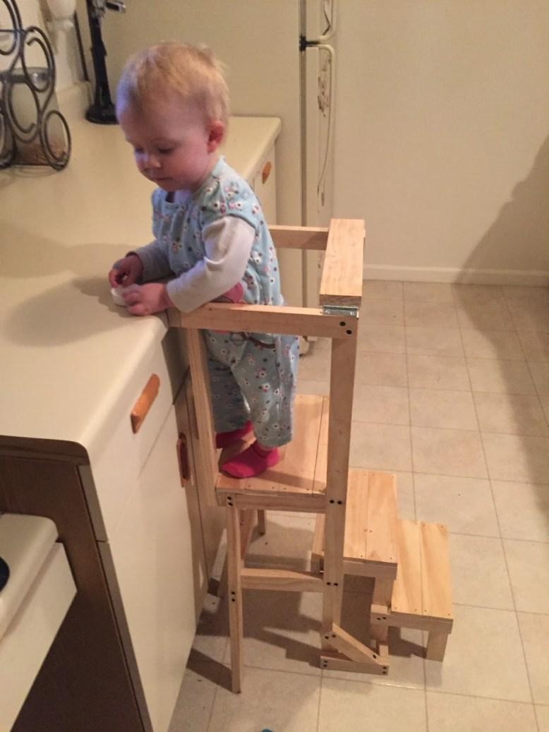 Custom Children's Learning Tower