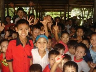 une école dans un monastère
