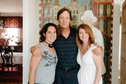 Kevin Sorbo, producer Lisa Arnold, and me