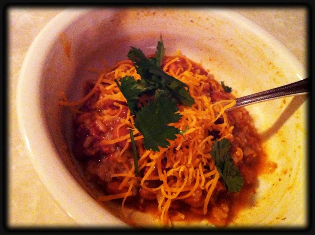 Chorizo Soup Bowl