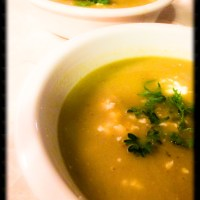 Summer Asparagus White Bean Soup