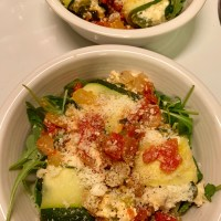 Zucchini Cannelloni with Fresh Tomato Sauce