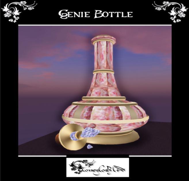 genie bottle outside