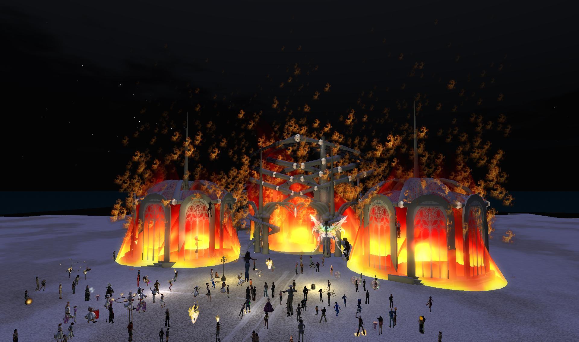 temple temple burning bright